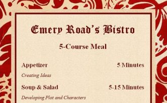 5-Course Meal Plan for Successful Writing Habits