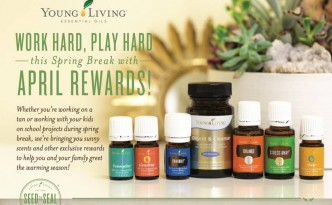 Young Living April 2016 Promotion - US