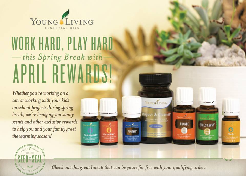 Young Living April Promotions
