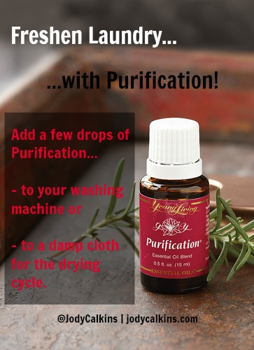 How to Freshen Your Laundry with Essential Oils