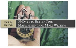 Time Management eCourse For Writers