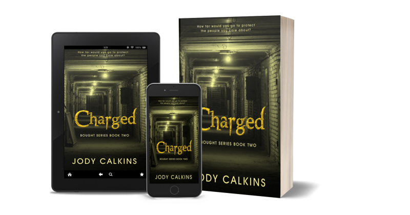 New Book Release – CHARGED (YA Dystopian Thriller)