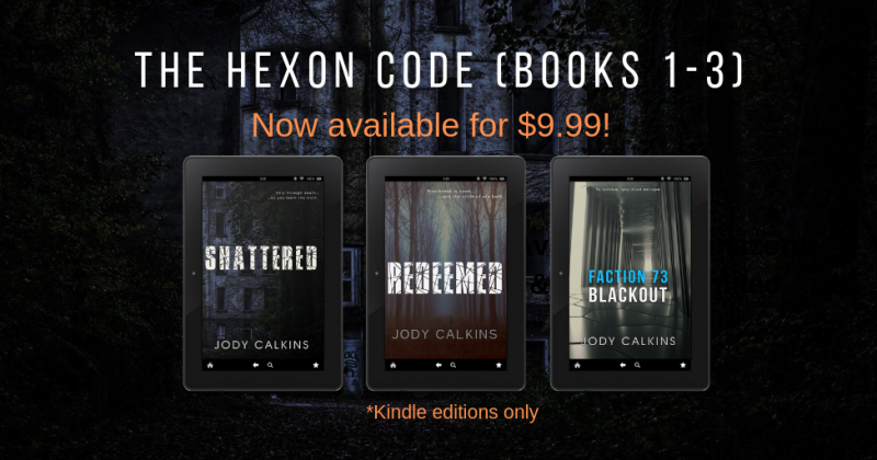 NEW Boxed Set for The Hexon Code