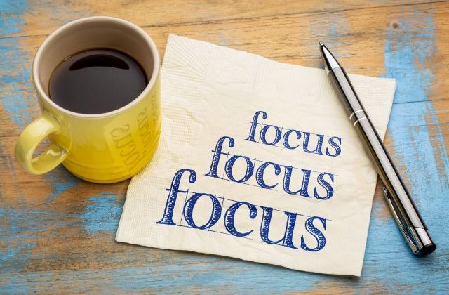 It's Time to Focus!